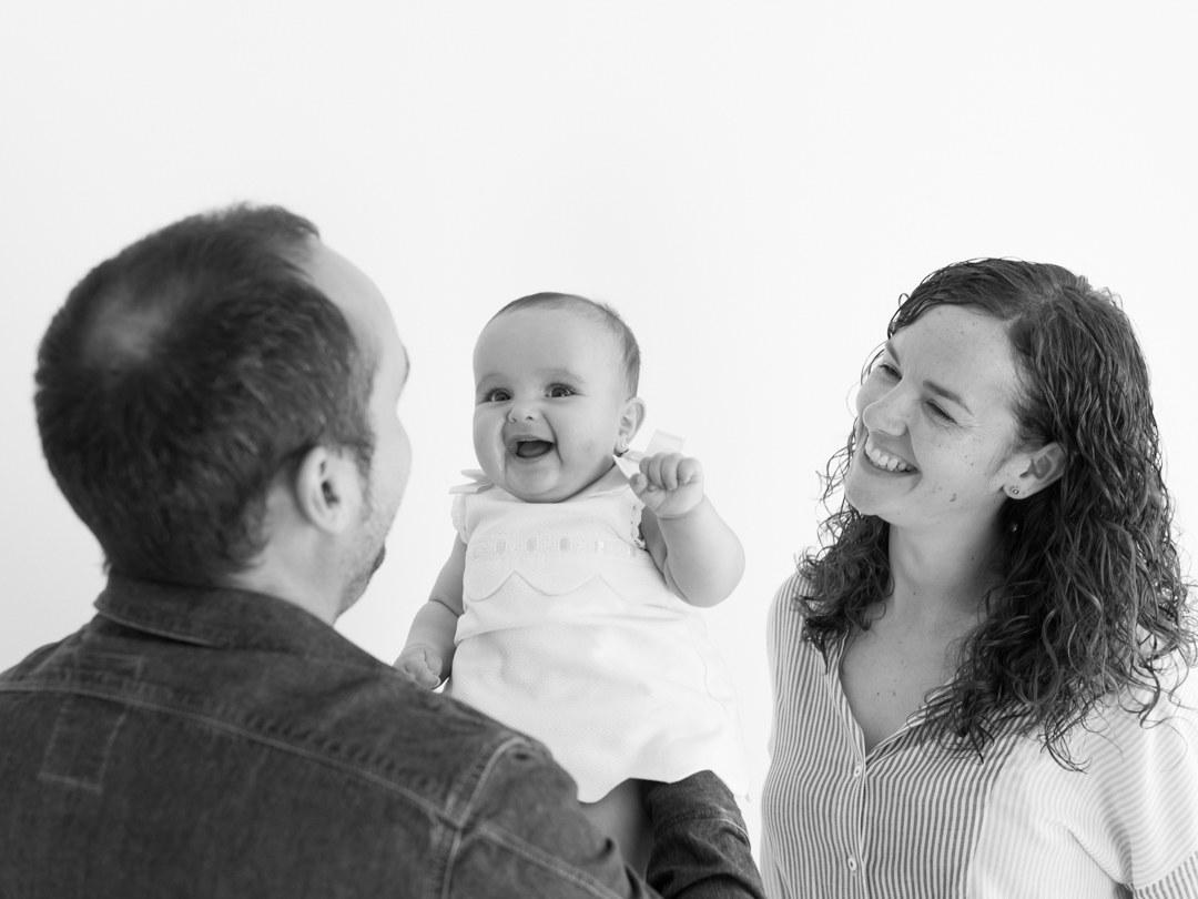 fotografa de bebés y familia: Irene Cazón