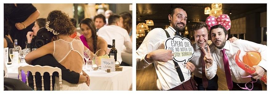 Fotógrafo de bodas en Asturias. Irene Cazón. Banquete nupcial