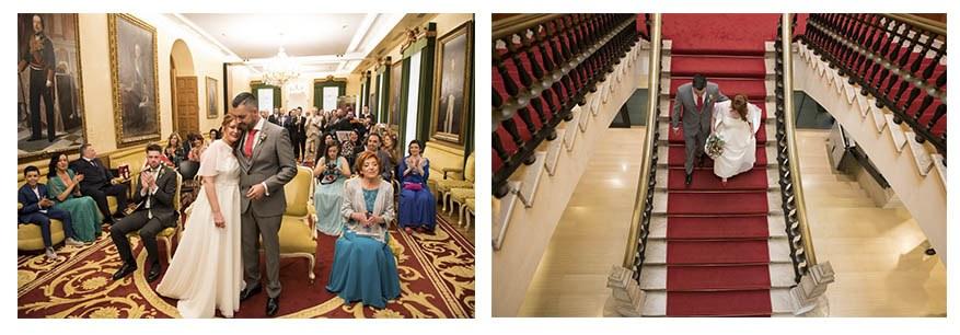 Casarse en Gijón. Boda en al ayuntamiento por Irene Cazón