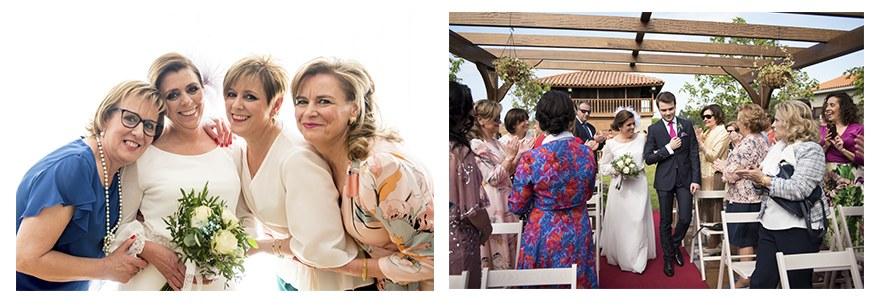 Fotos del banquete de boda de Inma y Yayo. Boda feliz por Irene Cazón.