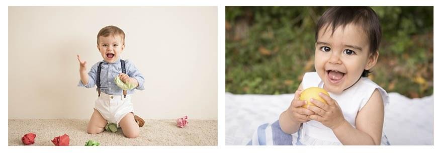 fotógrafo de bebés en Gijón Irene Cazón. 1 año