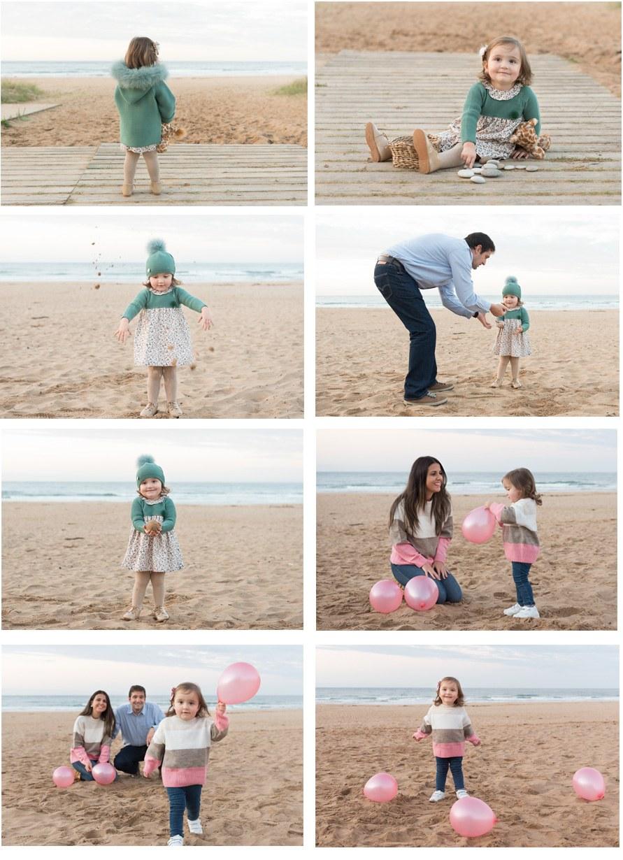 SESIÓN DE FOTOS INFANTIL DE INVIERNO EN LA PLAYA