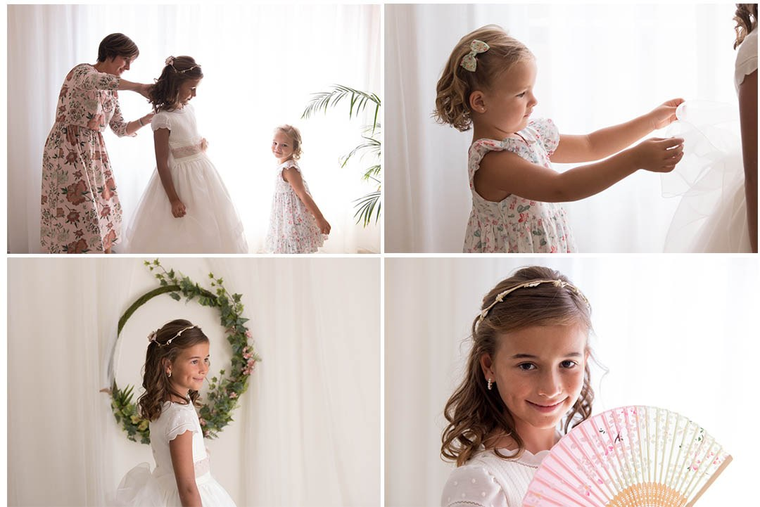 fotos de comunión en Gijón. Fotógrafo de bodas