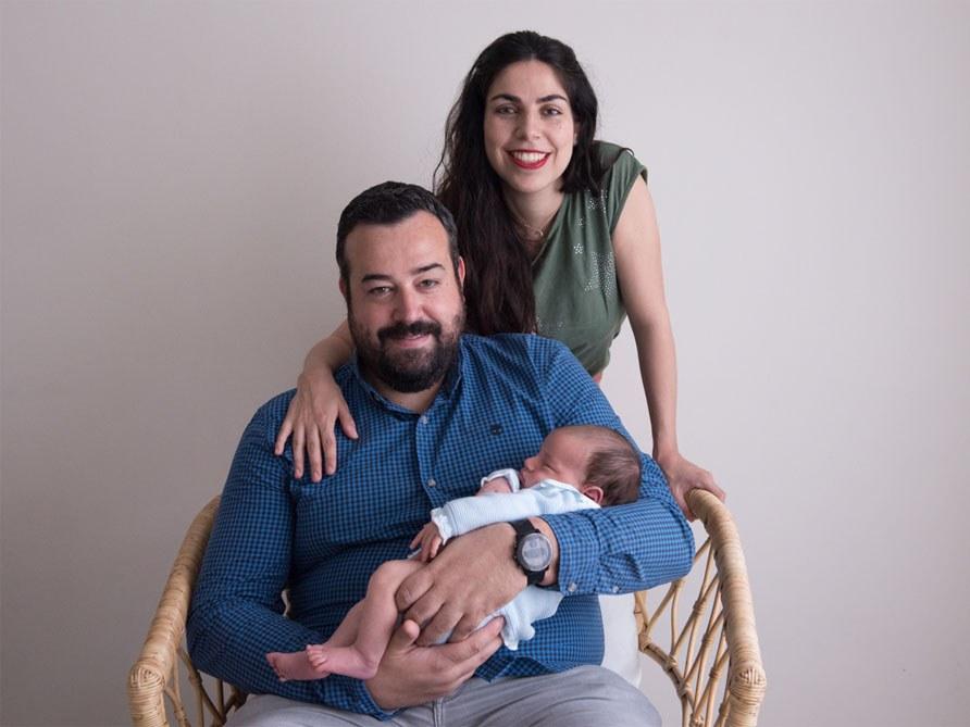 Sesión de bebé en estudio - Fotógrafo de bebés en Gijón - Irene Cazón1