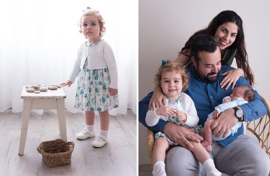 Sesión de bebé en estudio - Fotógrafo de bebés en Gijón - Irene Cazón